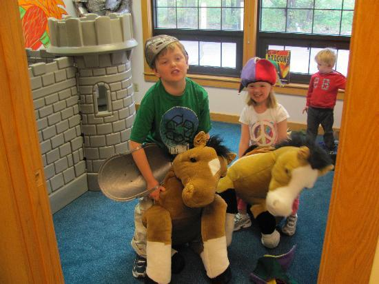 MWV Children's Museum: Riding Horses
