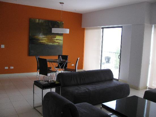 Jaco Bay Resort Condominium: Living area