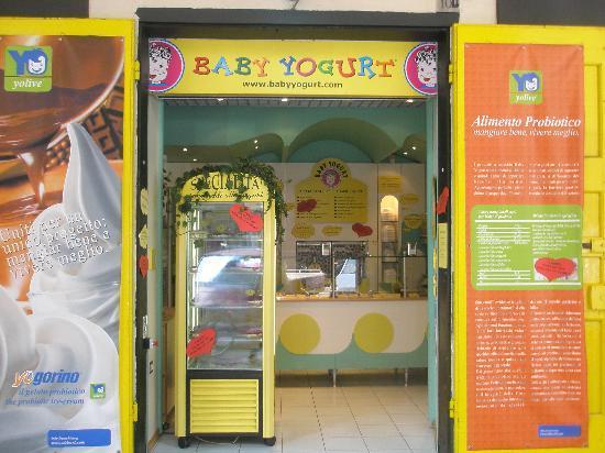 Baby Yogurt : yogurt gelato senza glutine e pasticceria usiamo paterie prime e frutta di altissima qualità