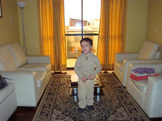 Inkari Apart Hotel: Living Room
