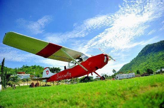 Suan Phueng, Tailandia: the plane