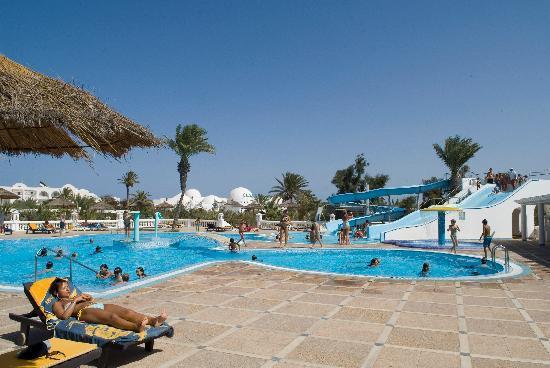 SunConnect Djerba Aqua Resort: Tobogon pool