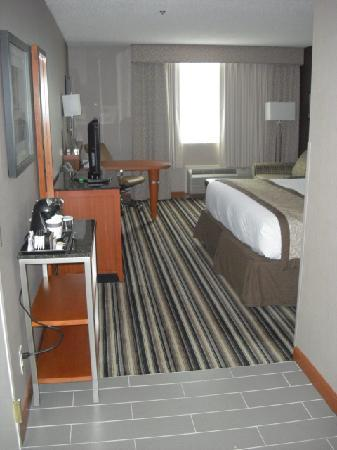 Doubletree by Hilton Hotel Akron - Fairlawn: Entrance to room
