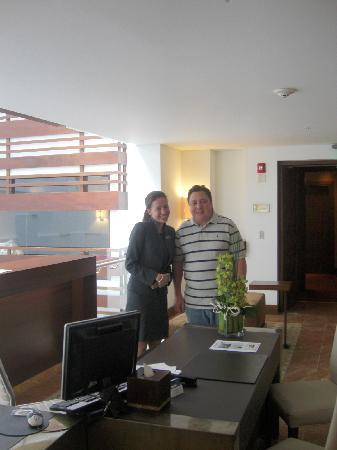 JW Marriott Hotel Bogota: Tatiana en  Piso ejecutivo