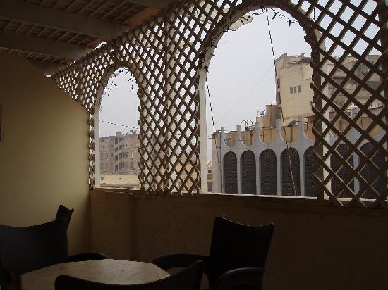Cairo Moon Hotel: view from balcony