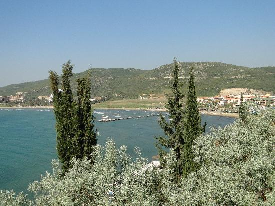 Ephesus Princess: View of the bay