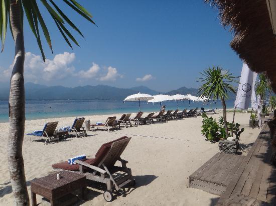 Manta Dive Gili Air Resort: The beach