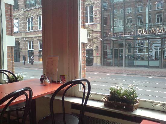 Hotel La Boheme: View from bar