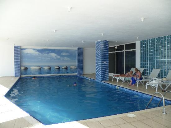 Milas, Turcja: View of indoor heated pool.