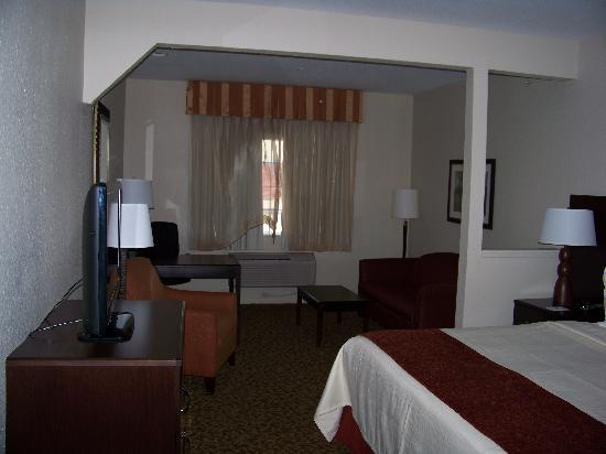 Best Western Plus Westchase Mini-Suites: Layout of Room