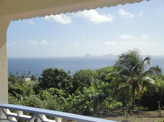 The Heights: view from cottage terrace