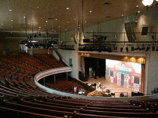 Ryman Auditorium : The stage