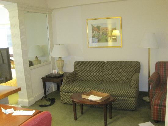 SpringHill Suites Nashville Airport: Living space area