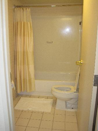 SpringHill Suites Nashville Airport: Toilet/shower
