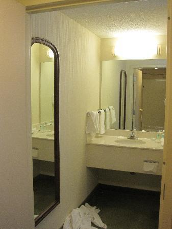 SpringHill Suites Nashville Airport: Sink area