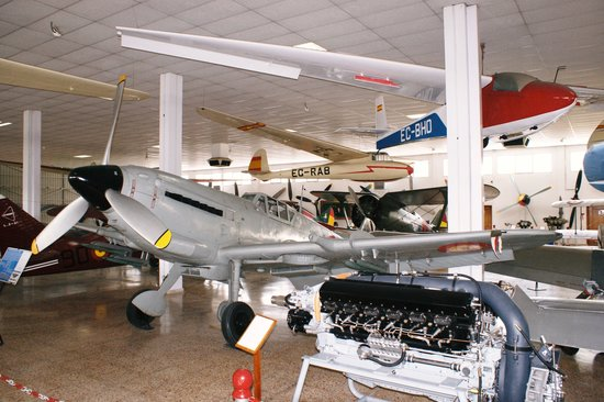 Museo del Aire: Hispano HA.112 K-1L Tripala of Spanish Nationalist Air Force