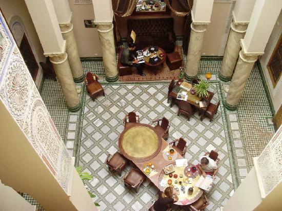 Dar Victoria : Hall del Hotel