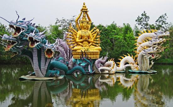 Bangkok, Tailandia: Ancient Museum 1