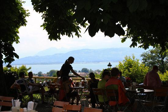 Landgasthof Montfort-Schlössle: Biergarten