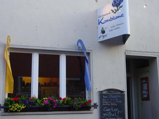 Restaurant Kornblume: Front of Kornblume Restaurant