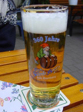 Restaurant Kornblume : Or drink the beer - only 360 years old!