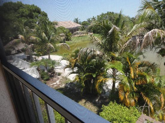 Marco Island Lakeside Inn: View from our room, 107
