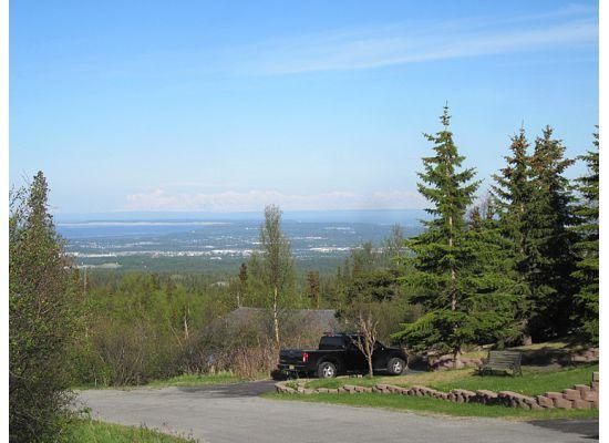 Alaskan Frontier Gardens Bed and Breakfast: view from the area