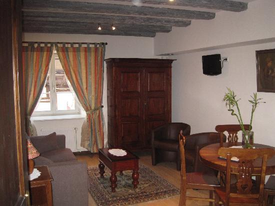 La Cour du Bailli Residence Hoteliere : The main room of our suite -- roomy!