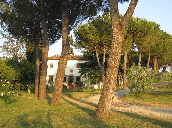 Villa Poggio ai Merli: Front of Villa Poggio