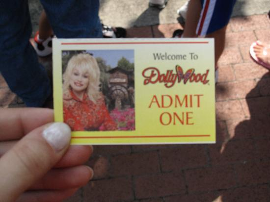 Golden Ticket  - Picture of Dollywood, Pigeon Forge