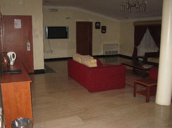 BON Hotel Stratton Asokoro: Penthouse suite