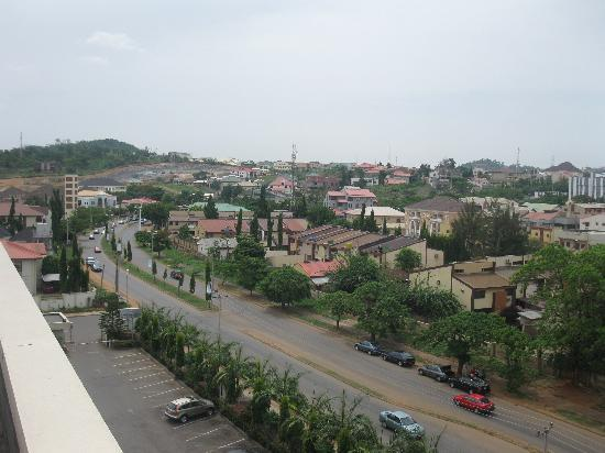 BON Hotel Stratton Asokoro : View from roof
