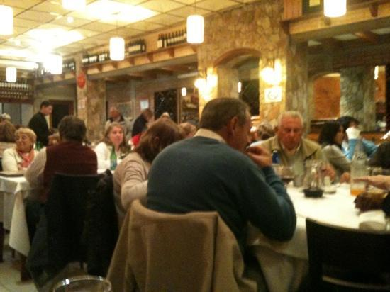 El Charrua: a full house - it's like this every night!
