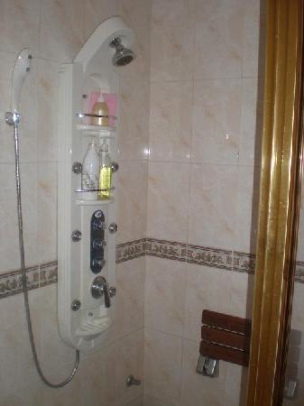 Elysee Motel: shower