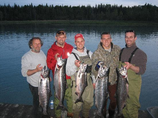 We'll save a few Kings for you (Alaska Riverview Lodge)
