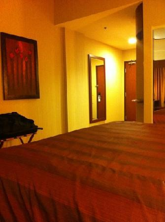 Quality Inn & Suites Levis : king room
