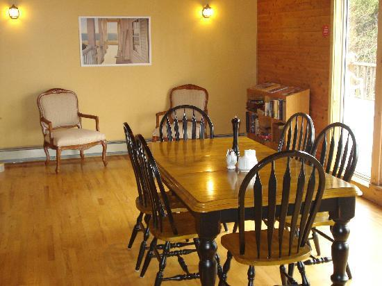 Wild Goose Lodge and Retreat: Great Room, for meetings, group dinners