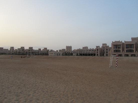Hotel Riu Touareg: Vista da praia, ao fim da tarde