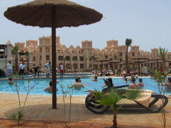 Hotel Riu Touareg: Hidroginastica, na piscina