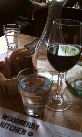 Woodberry Kitchen: bread & wine choices are awsome