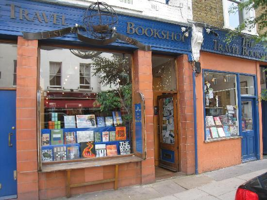 TRAVEL BOOKSHOP in Notting Hill