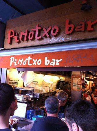 Bar Pinotxo : fantastic tapas