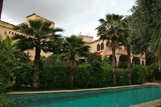 Riad Alkantara : Magnificent swimming pool