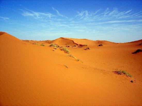 La Vallée des Dunes: Dans les dunes de l'Erg Chebbi