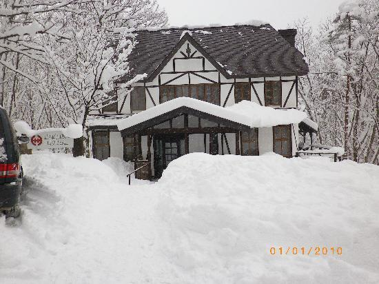 Front of Hakuba House