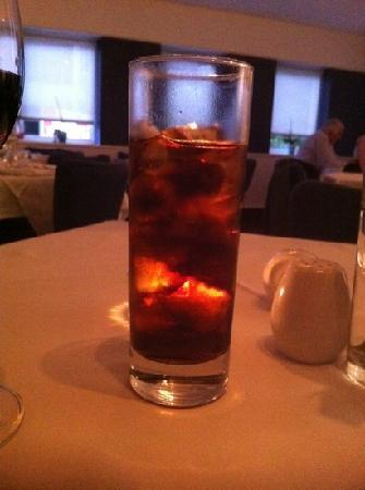 The Square Cafe & Restaurant: would you like coke with your ice?
