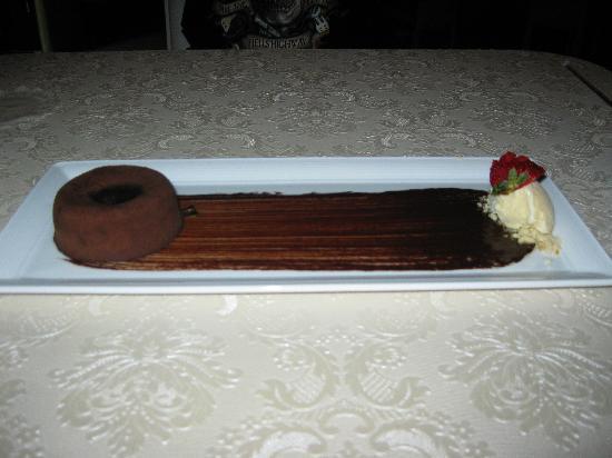 Brush Restaurant & Lounge : desert