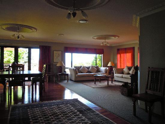 Rangimarie Guest House: Der Wohnraum