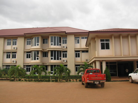 Tamale, Ghana: Front of Hotel