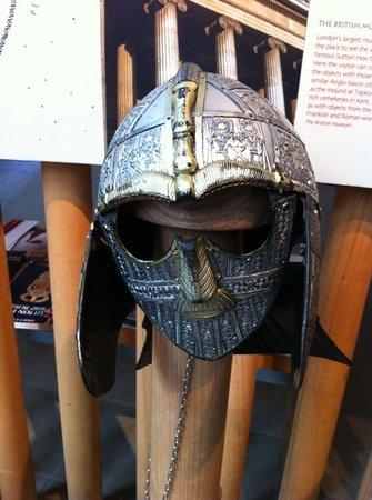 Anglo Saxon head mask